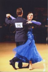 Karen at Ballroom Competition